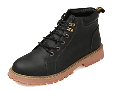 Men's Leisure Outdoor Lace-up Synthetic Hiking Ankle Boots