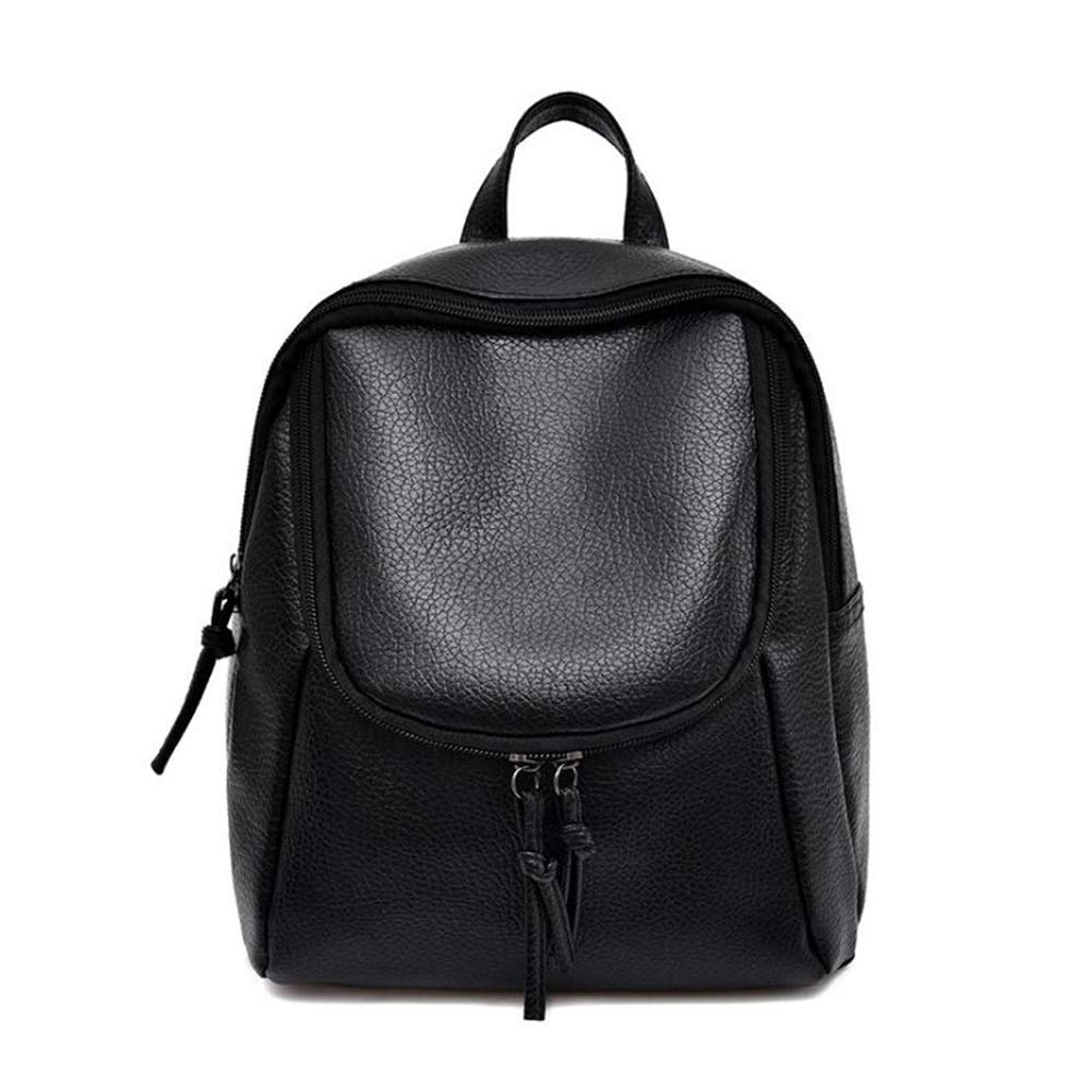 A 262310cm Women's Backpack, Simple Washed Shoulder Bag Ladies Shoulder Travel Mini Dualuse Small Backpack (color   A, Size   26  23  10cm)
