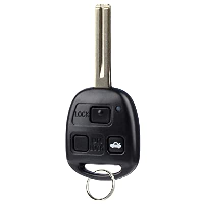Key Fob fits 1997-2005 Lexus ES300 GS300 GS400 GS430 IS300 LS400 Keyless Entry Remote (HYQ1512V): Automotive