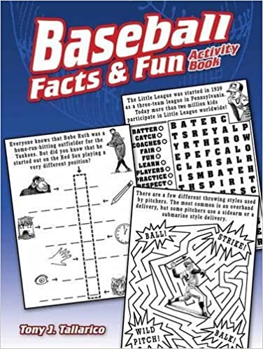 Baseball Facts /& Fun Activity Book