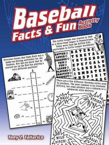 Baseball Facts & Fun Activity Book (Dover Children's Activity Books)