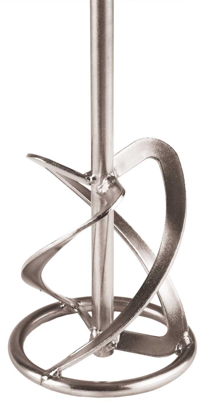 Berg MR 140 G 740 - Mezclador con hé lices para argamasa y aro de 14 cm de diá metro, 74 cm de longitud, color plata 89264
