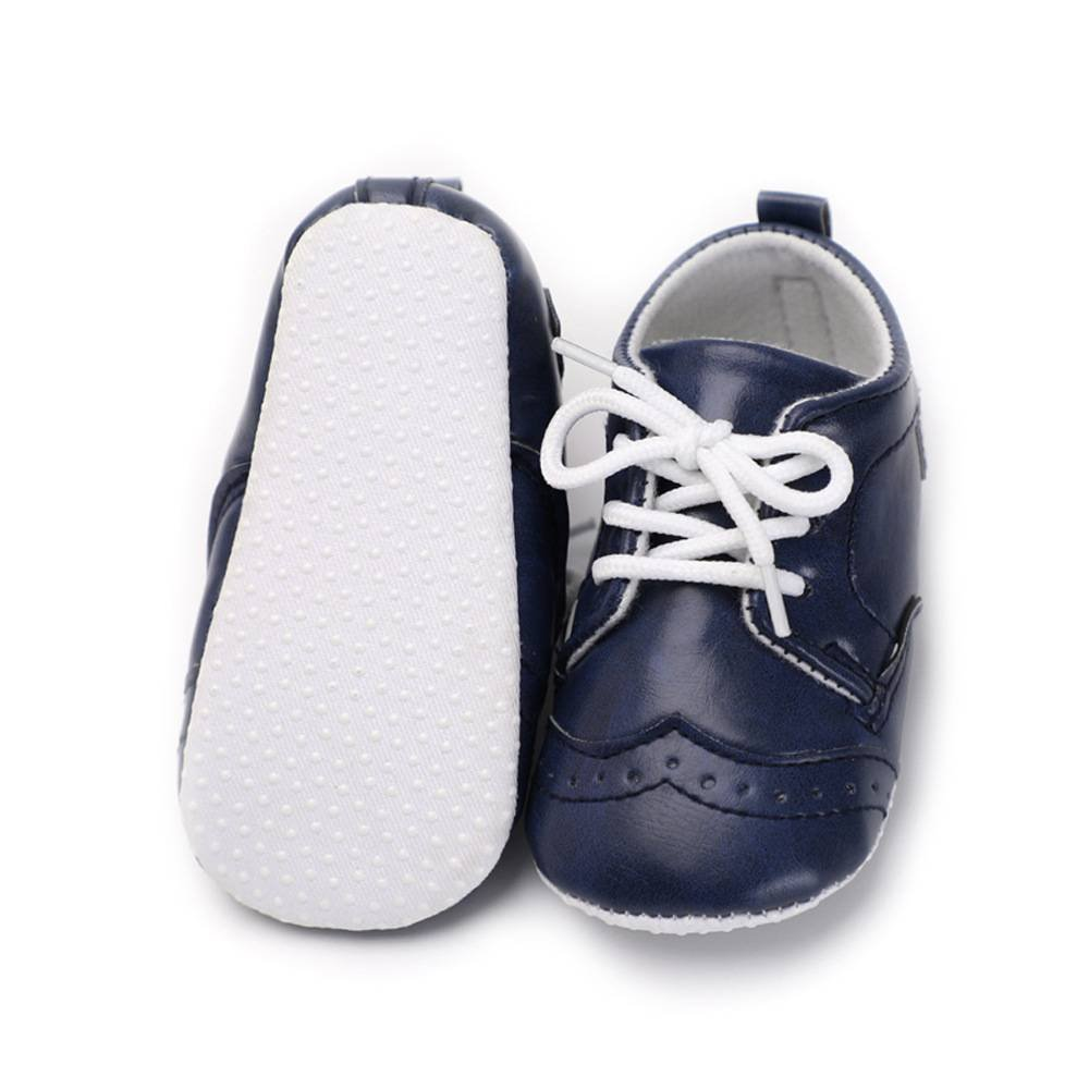 Xinghan Baby Boys Girls Anti-Slip Soft Sole Moccasins Lace-up Toddler Shoes