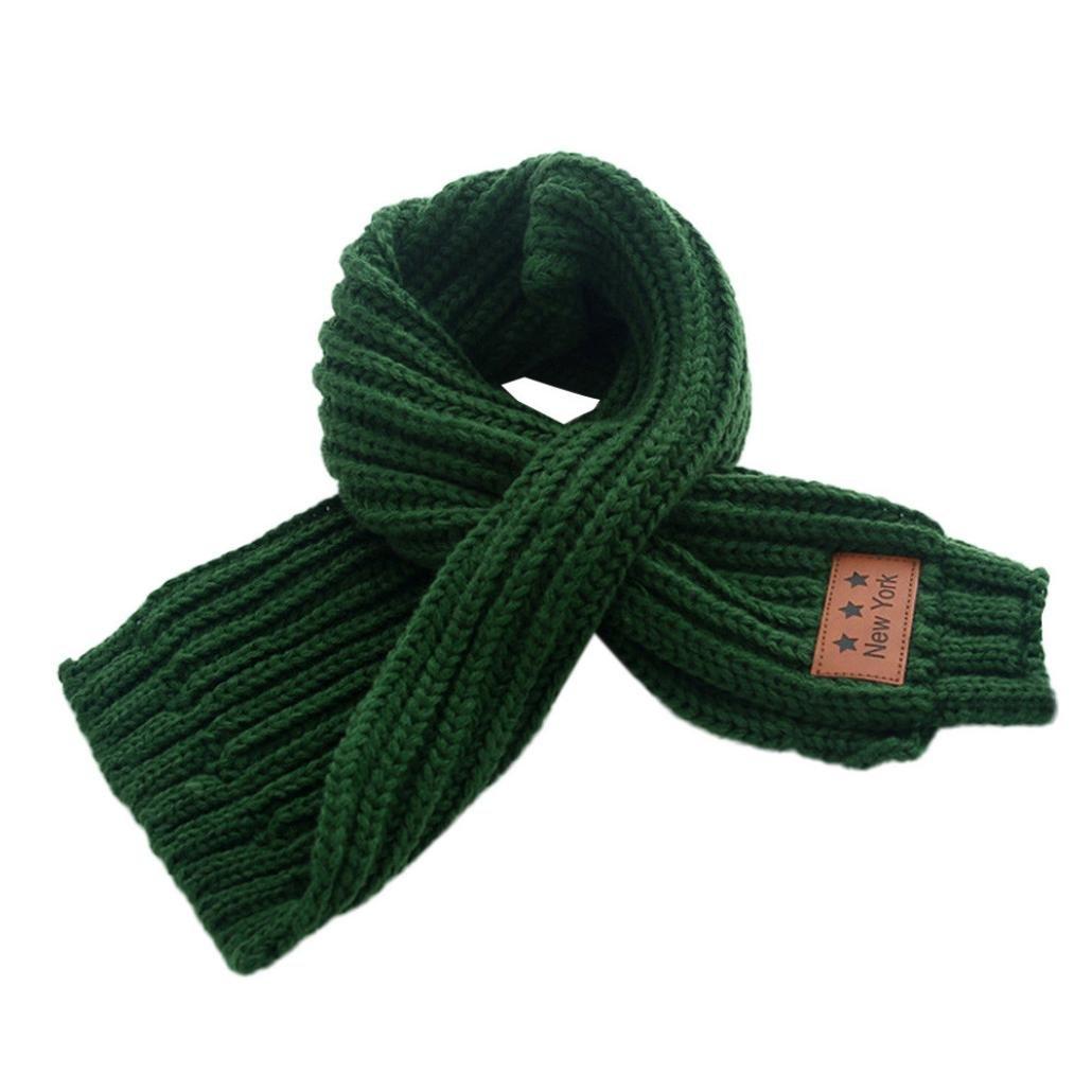 Bigban Boy Girl Baby Knitting Wool Scarf Winter Intersect Scarf Neck Warm Bigban_2326