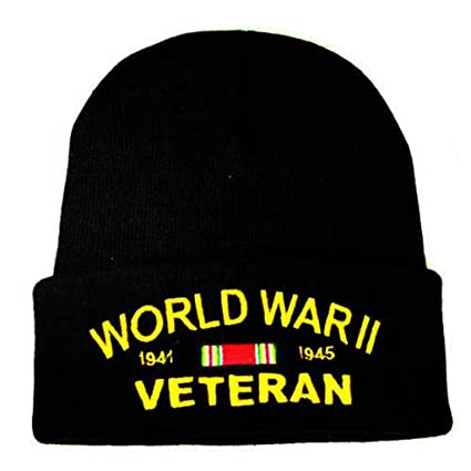 f7ed138e40c Amazon.com  Rush Industries World War II Knit Cap WWII Hats Military  Collectibles for Men and Women Gifts  Sports   Outdoors