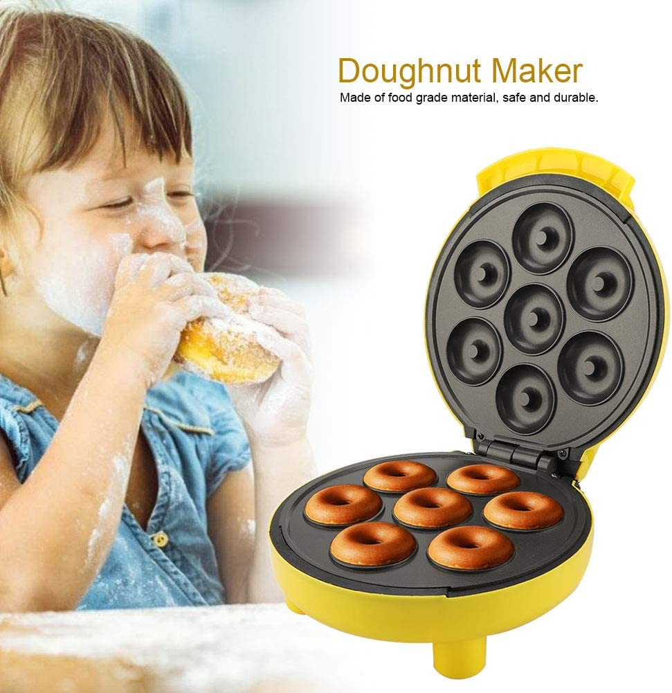 Amazon.com: Mini donut Maker, máquina de donas eléctrica ...