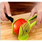 Generic Tomato Slicer Multifunctional Handheld Tomato Round Slicer Fruit Vegetable Cutter Lemon Shreadders Slicer