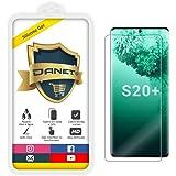 Película de Gel Silicone Flexível Para Para Samsung Galaxy S20 Plus S20+ 6.7 Polegadas - Proteção Que Adere E Cobre Toda A Te