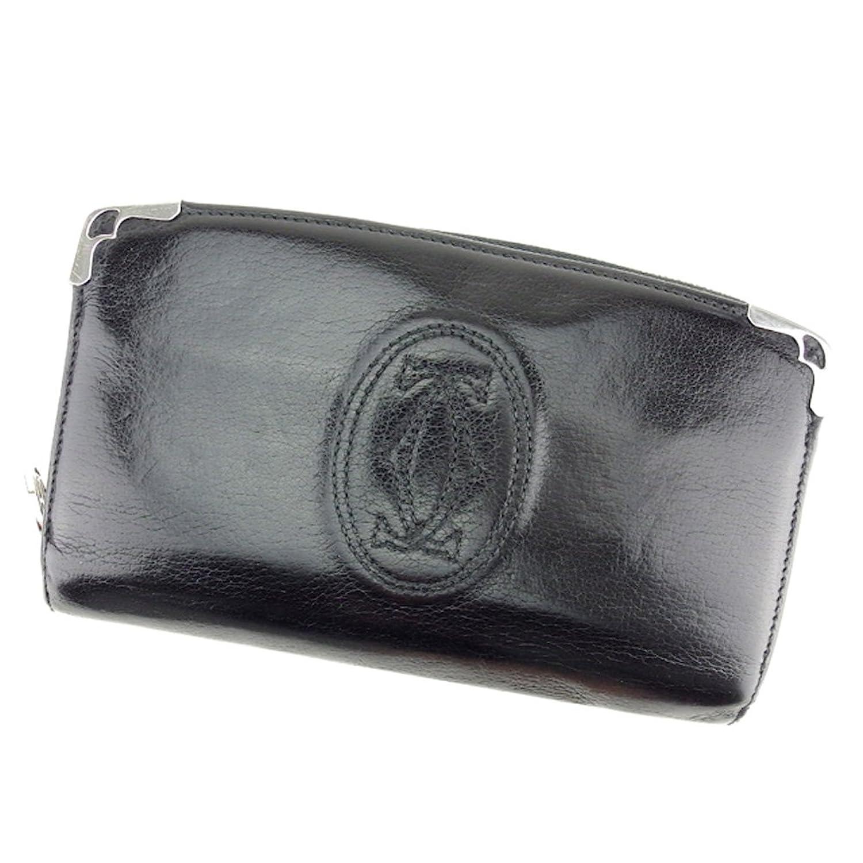 19941968e053 [カルティエ] Cartier 長財布 ラウンドファスナー メンズ 可 マストライン 中古 T7625 B07D9HPN5S レディース-財布