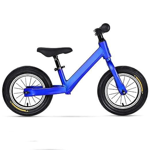 HHXX Bicicleta de Equilibrio para niños, Ligera, sin Pedal ...