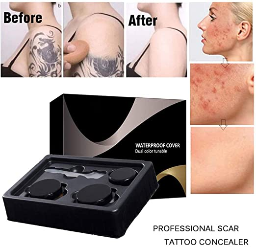 Pywee Skin Concealer Stick Set Corrector de Maquillaje para ...