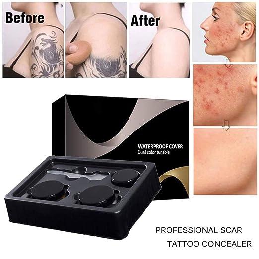 Naugust Skin Concealer Stick Set Corrector de Maquillaje para ...
