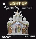 Ganz - Light Up Christmas Nativity Set