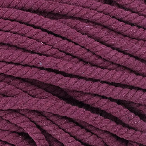 West Coast Paracord Super Soft Triple-Strand 1/2 Inch Twisted Cotton Rope by the foot in 10 Ft, 25 Ft, 50 Ft, 100 Ft Options – 100% Cotton Rope