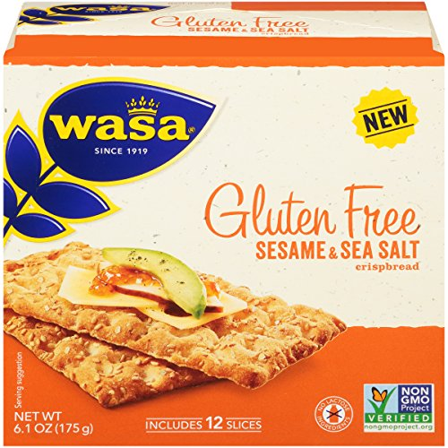 (Wasa Gluten Free Sesame & Sea Salt Crispbread, 6.1 Ounce (Pack of 10))