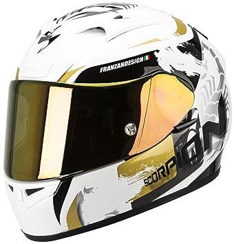 Scorpion - Casco de moto EXO-710 Air, con calota exterior de fibras de