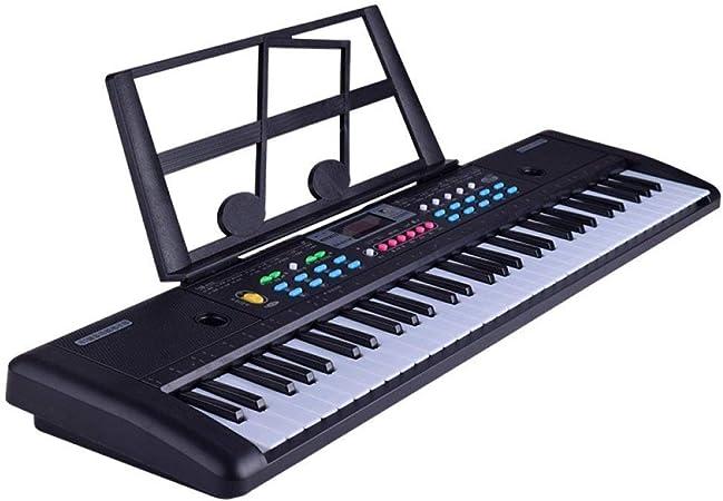 Juguete de piano electrónico, teclado electrónico de 61 ...