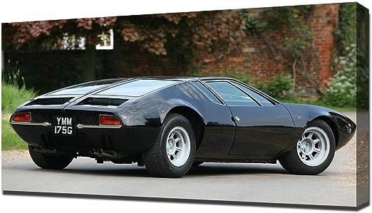 De Tomaso Mangusta >> Amazon Com Lilarama Usa 1967 De Tomaso Mangusta V8 Canvas