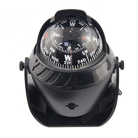 Pro Electronic Vehicle Car Navigation Sea Marine Boat Ship Compass LED Light GPS