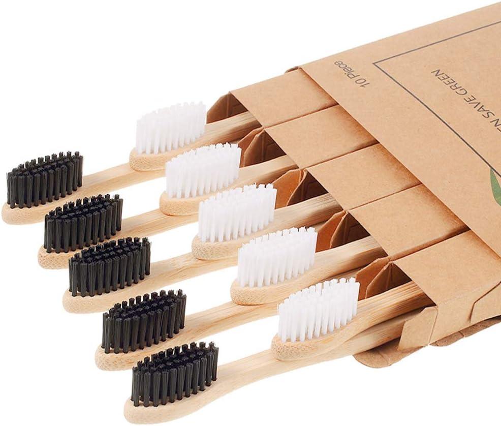Nuduko 10 Piece Biodegradable Bamboo Toothbrushes $5.99 Coupon