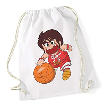 Bubbleshirt sacca da ginnastica anime cult anni 80 gigi la trottola