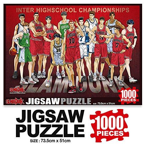 1000Piece Jigsaw Puzzle Slam Dunk Basketball- Inter Highschool ()