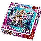 Trefl - 35653 - Puzzle 3d - Winx - 120 Pièces