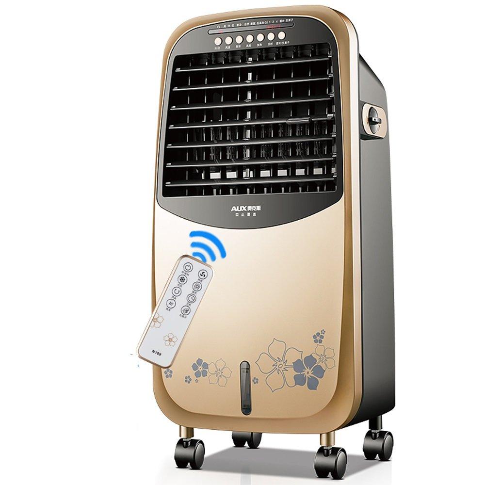 Acquisto Ventola ZR riscaldatore di Raffreddamento Portatile con Telecomando Risparmio energetico Temporizzazione Aria condizionata Ventilatore 3 File Regolatore d'Aria Regolabile Facile da spostare Prezzi offerte