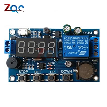 Electrical Equipments Dc 5V Real Time Timing Delay Timer ... on water timer diagram, water rocket diagram, transistor diagram, boost gauge install diagram, on delay timer circuit, 555 timer diagram, mathematical diagram, hks turbo timer diagram, water pump pressure switch diagram, crystal diagram, timer switch diagram, relay switch diagram,