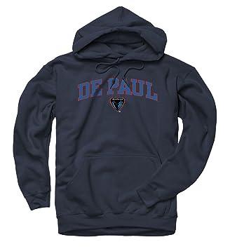 Amazon.com : DePaul Blue Demons Arch and Logo Hooded Sweatshirt ...