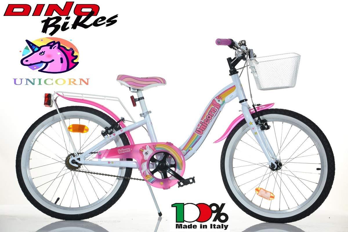 BICICLETTA DINO BIKES Bambina 20 Unicorn Art 204 R-Un