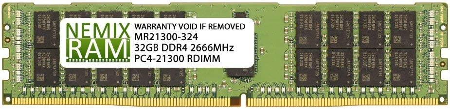 PC4-21300 ECC Registered RDIMM Memory for Cisco UCS C-Series C240 M5 Certified Refurbished Cisco UCS-MR-X32G2RS-H 32GB 1 x 32GB