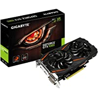 Gigabyte GV-N1060WF2OC - Grafikkarte NVIDIA GeForce 1060 GTX OC Windforce 2 (6 GB GDDR5, PCI-E 3.0, DVI-D, HDMI, DP), schwarz