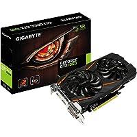 Gigabyte GV-N1060WF2OC-6GD Scheda Grafica da 6 GB GDDR5, 1280 Core, 1556MHz GPU, 1771MHz, Nero