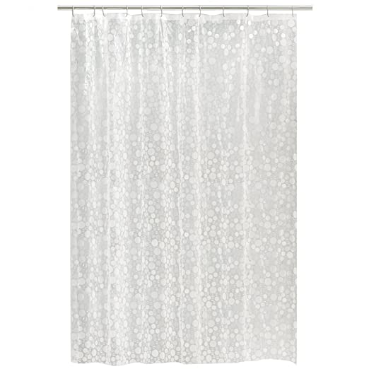 Amazon.com: Maytex Ice Circles PEVA Shower Curtain, Clear, 70 in. x ...