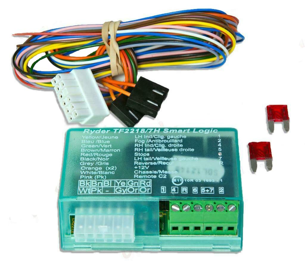 STX TOWBAR 7 WAY TOWING ELECTRIC BYPASS RELAY WIRING KIT UNIVERSAL