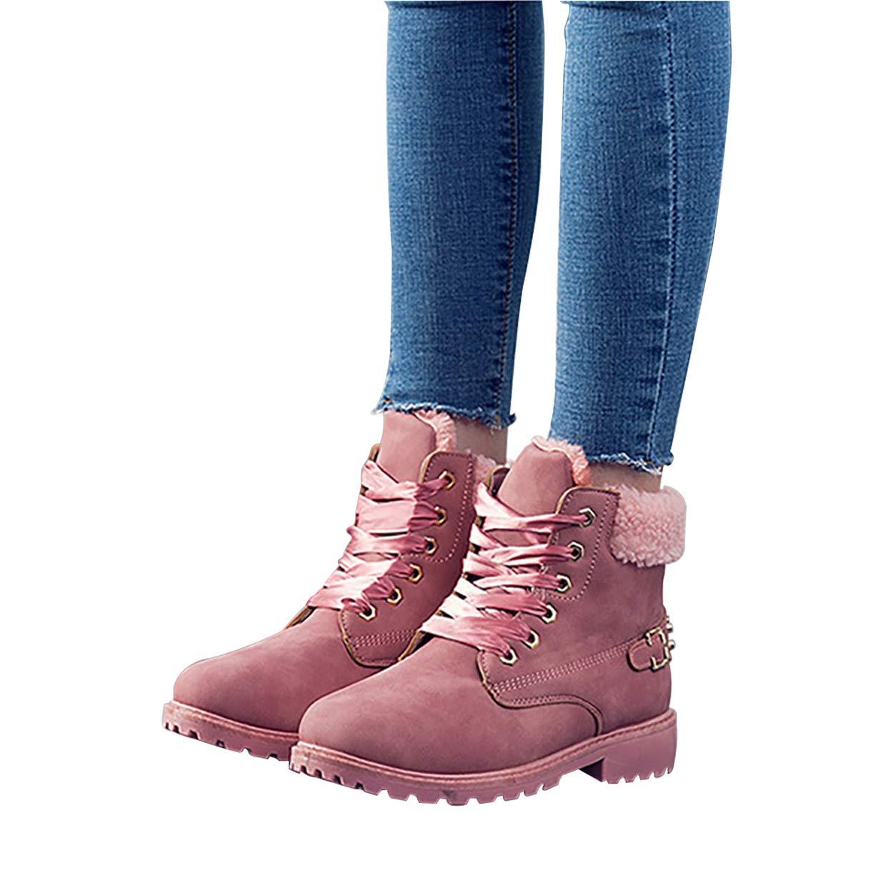 Susanny Susanny Susanny - Botas de Nieve Mujer cordón Corto el Tobillo en Invierno 05f4d7