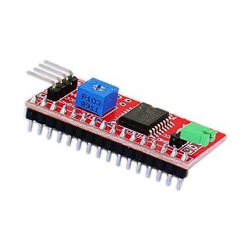 Arduino IIC/I2C/interface LCD1602 pinboard/Arduino function