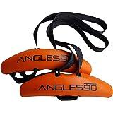 Angles90 grips (グリップ2点 + カラビナ1点) トレーニング用アタッチメント チンニング(懸垂) デッドリフト ラットプルダウン トレーニング効果アップ ケガの抑制