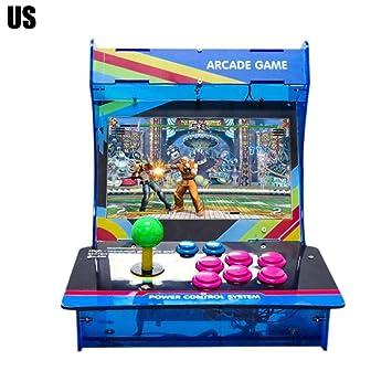 Reputedc 1399 enero Caja de luz 6S Consola de Juegos de Arcade en casa con Pausa
