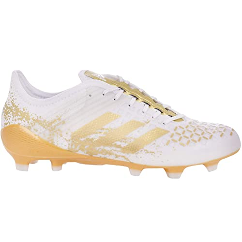 957fe3c3 ... top quality amazon adidas performance mens predator malice control fg  rugby boots white soccer 587d4 86617