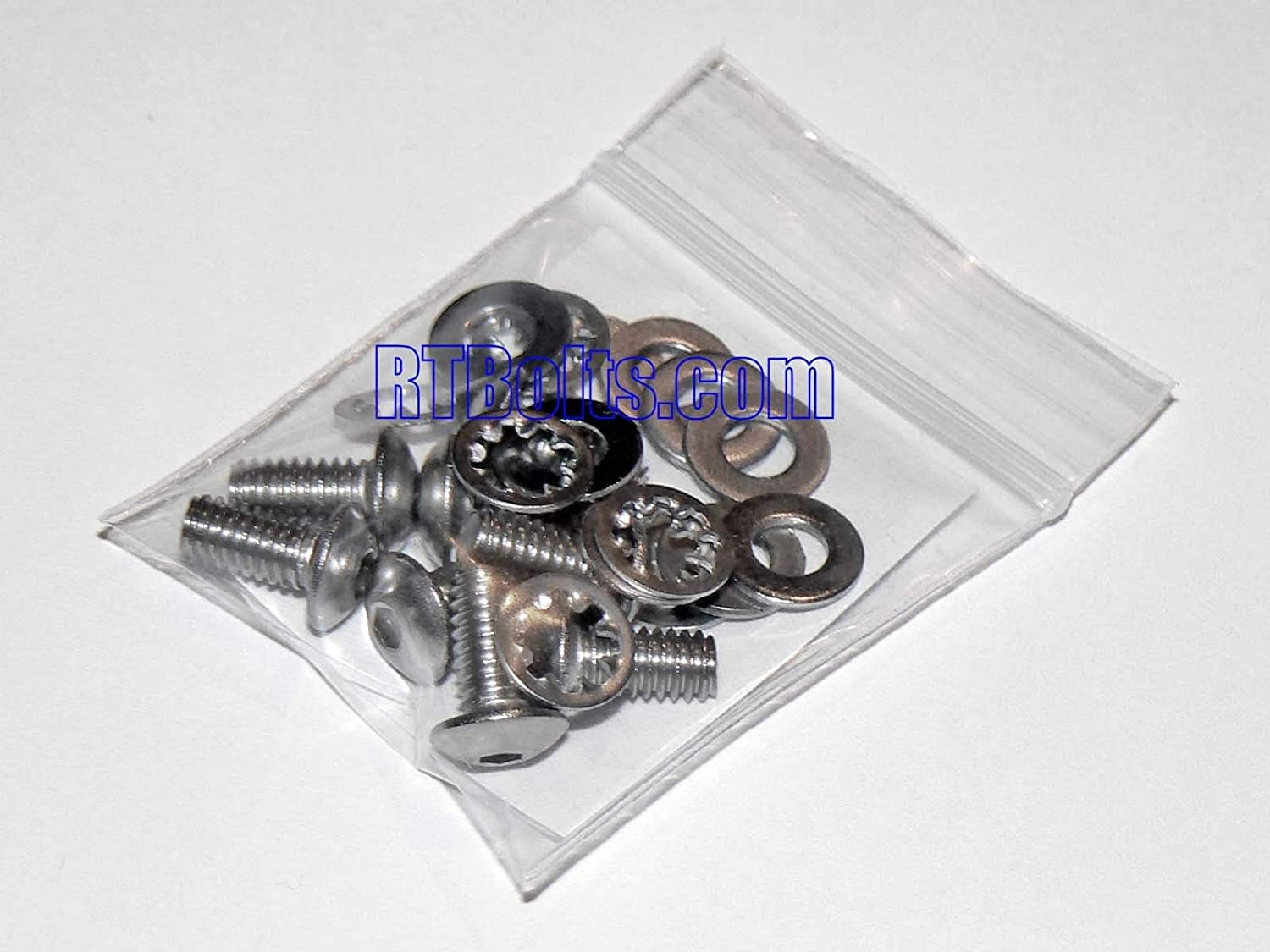 Stainless Steel Nut /& Bolt - 5 + 2 Extras Harley-Davidson Timing Points Cam Cover Bolts