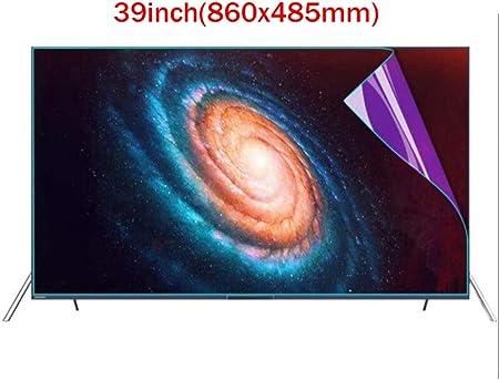 ZSHYP 39 Pulgadas Protector De Pantalla De TV, Luz Antirreflejos Luz Antiazul para LCD, LED Y Plasma HDTV Televisor,Matt: Amazon.es: Hogar