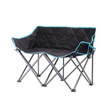 TTYY Nueva Silla Doble Plegable al Aire Libre Que acampa ...