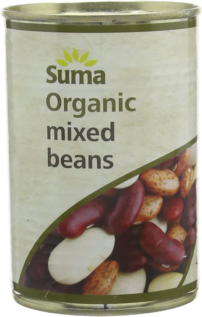 Suma Organic Mixed Beans 400g (Pack of 12)
