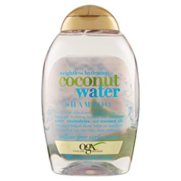 Ogx Coconut Water Shampoo 1er Pack 1 X 385 Ml Amazonde Beauty