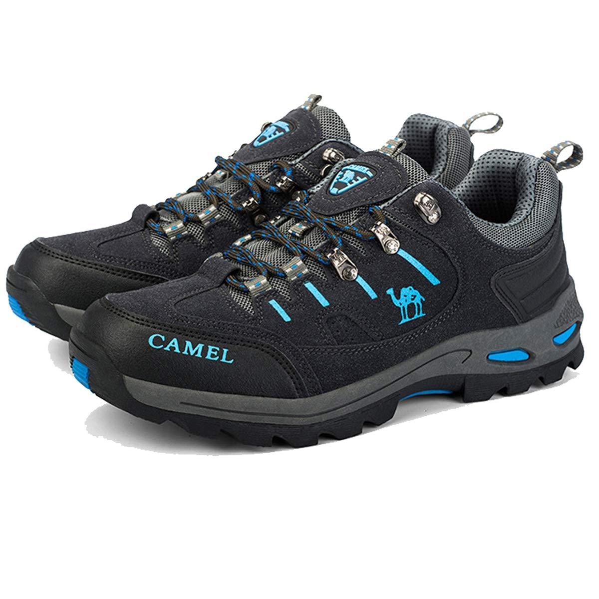 Adong Männer Bergsteigen Stiefel Turnschuhe Schuhe Jungle Trekking-Schuhe ow-Top-Schuhe für alle Saison,B,40EU