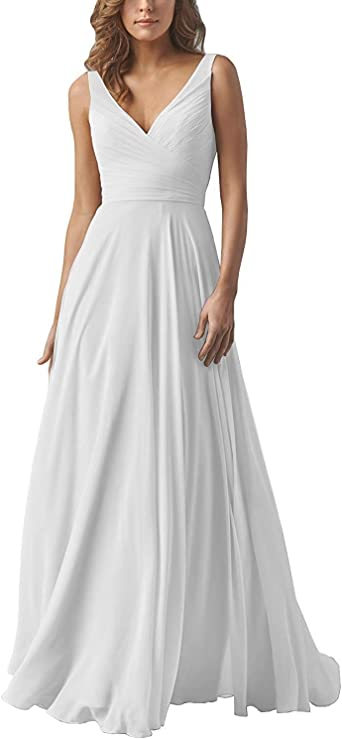 Ryanth Women S Simple Wedding Dress For Bride 2020 Long Chiffon Beach Wedding Gown Rpm42 At Amazon Women S Clothing Store,Wedding Dress Beetlejuice Winona Ryder