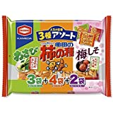 亀田製菓 亀田の柿の種3種アソート 250g