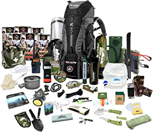 Prep Store Elite Plus - Emergency Survival Pack - 4 Day Food Supply - Survival Kit - Bugout Bag - Hurricane Emergency Kit - Survival Bag - Bug Out Bag (Elite Plus KIT)